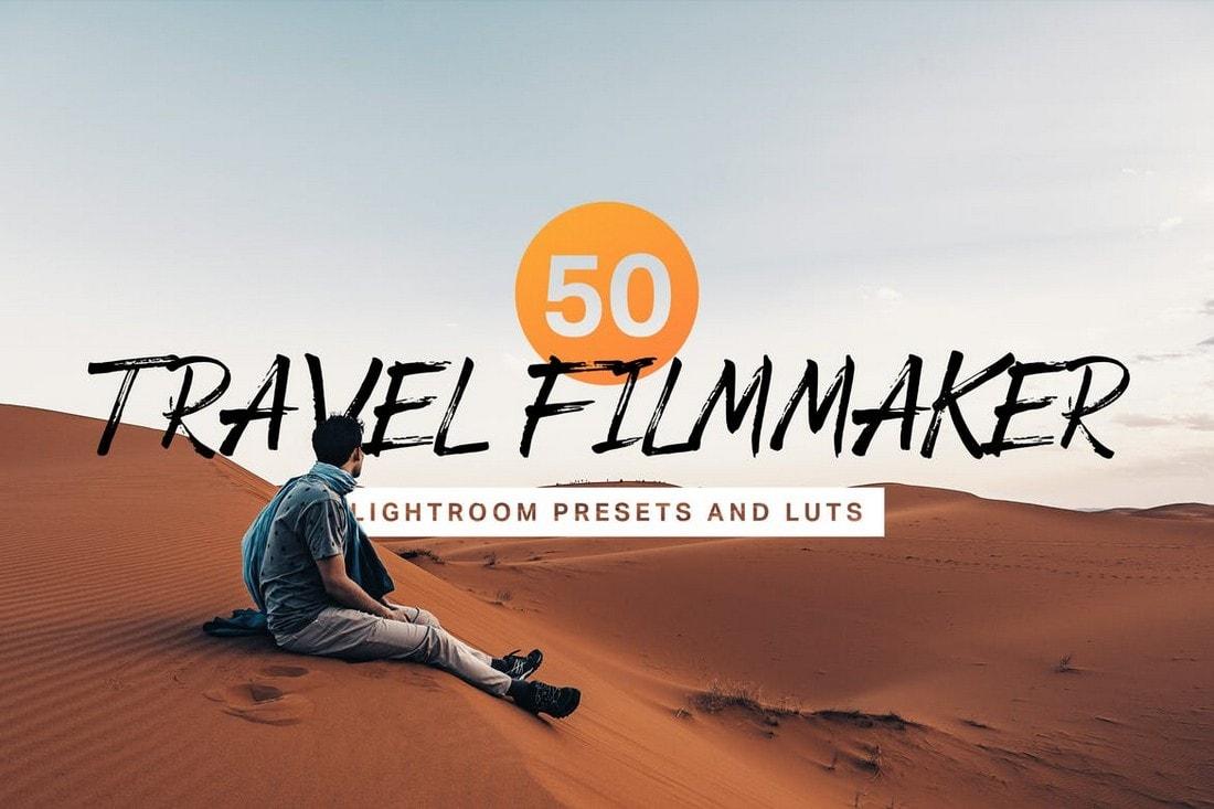 50 Travel Filmmaker Lightroom Presets