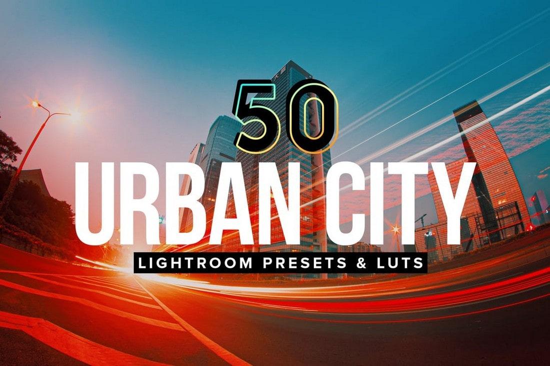 50 Urban City Landscape Lightroom Presets