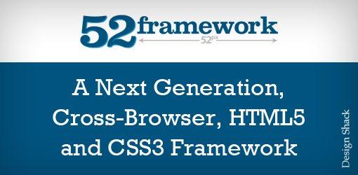 52 Framework: 第一个永久HTML5和CSS3的框架