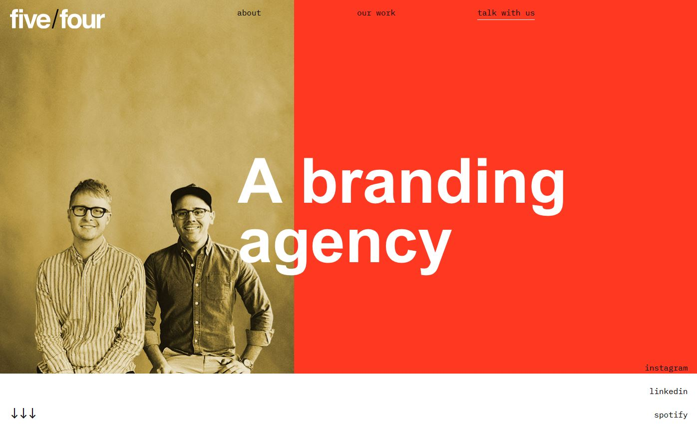 54agency Minimalist Graphic Design: 10 Examples & Tips design tips