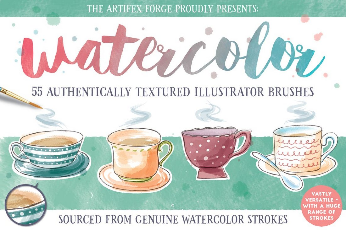 55-Watercolor-Brushes 30+ Best High-Quality Photoshop & Illustrator Brushes design tips
