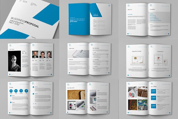 70+ Modern Corporate Brochure Templates | Design Shack