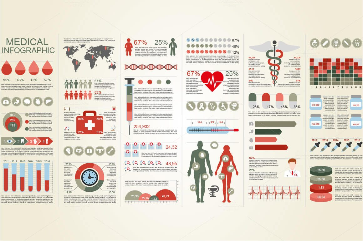 6-18 40+ Best Infographic Templates (Word, PowerPoint & Illustrator) design tips