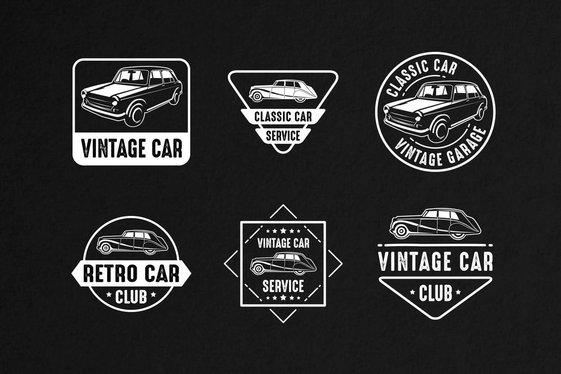 6 Free Car Badges & Logo Templates