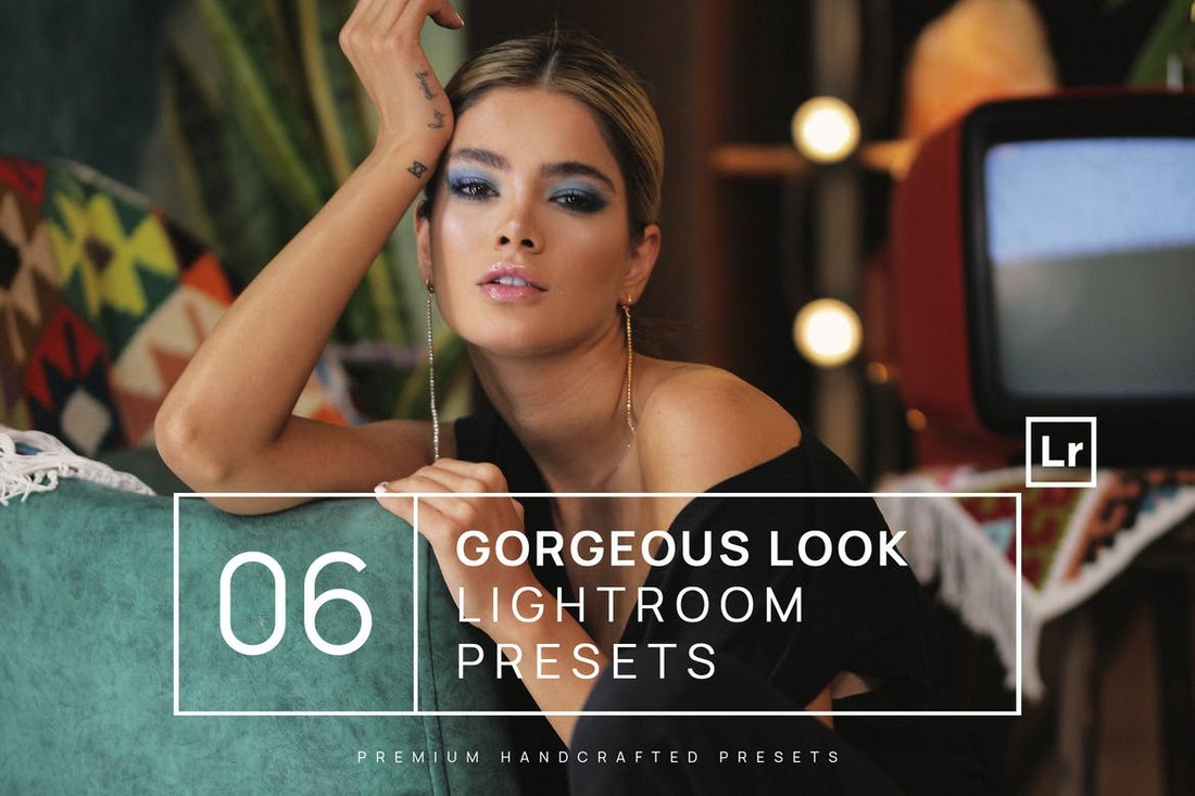 6 Gorgeous Look Lightroom Presets + Mobile