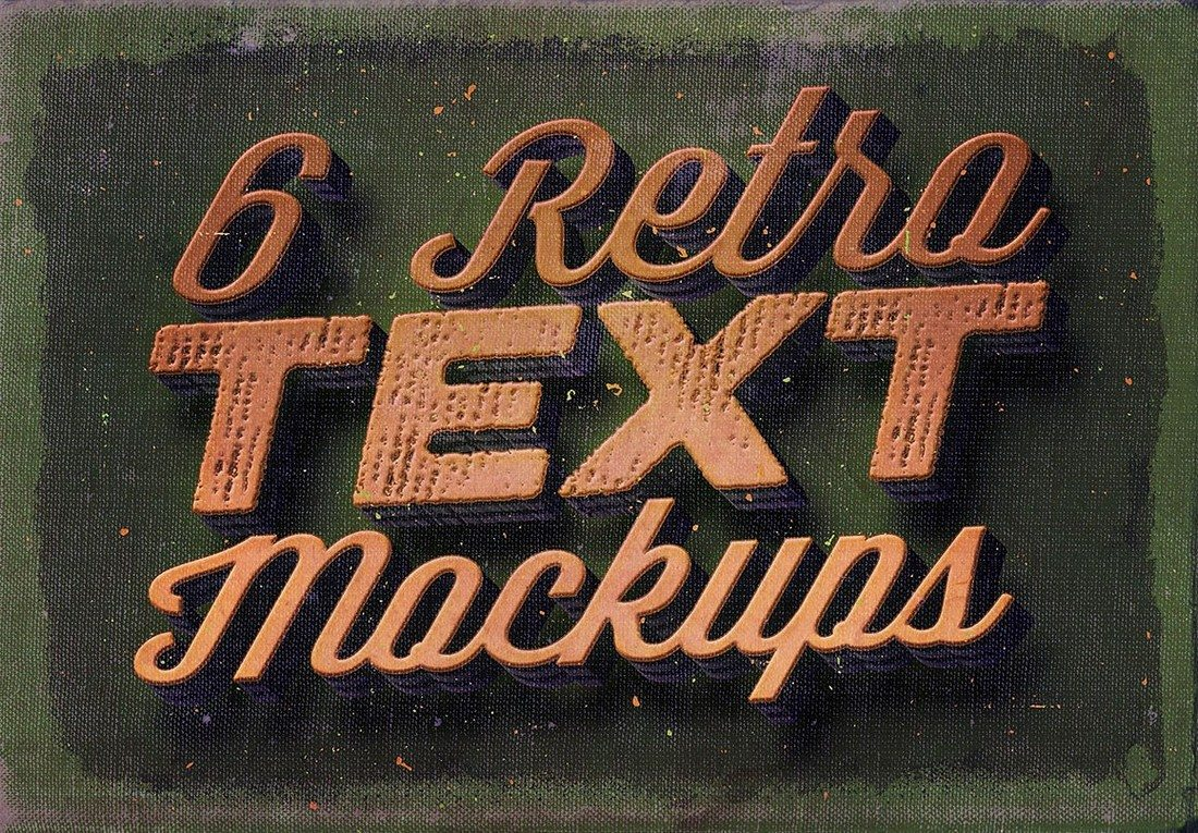 6-Retro-Vintage-Text-Mock-ups 40+ Stunning Vintage Mockup Packs & Graphics design tips