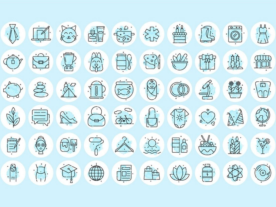 60 Instagram Highlight Icons (Free)