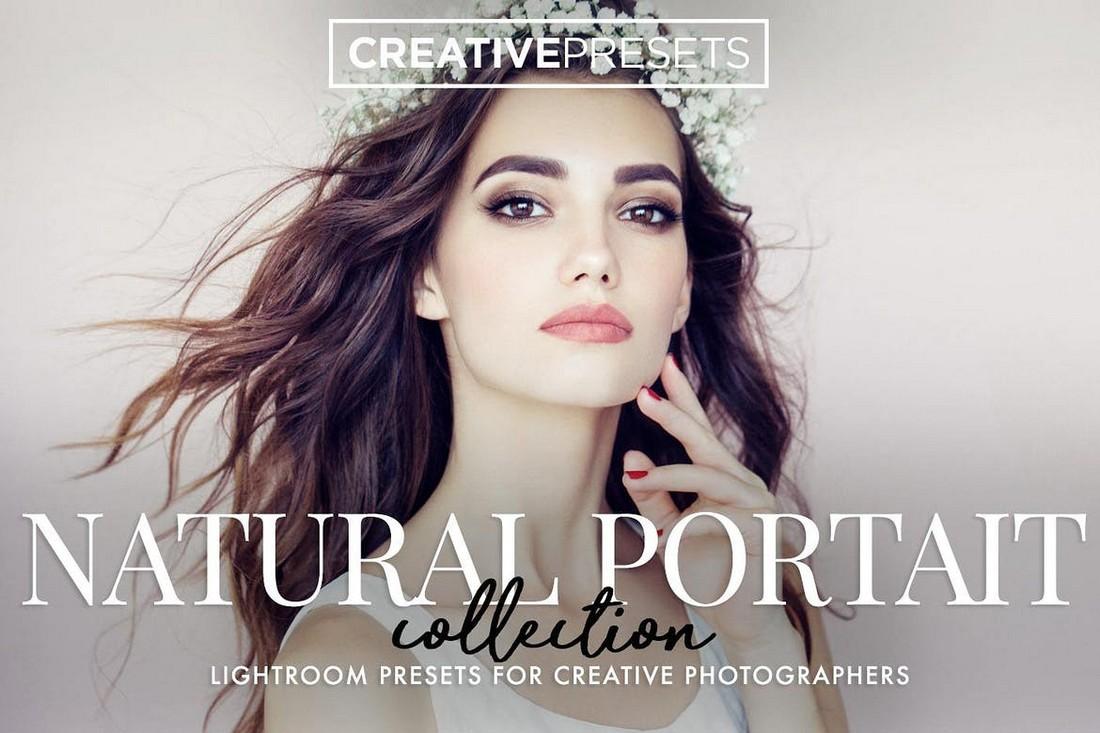 60 Natural Portrait Lightroom Mobile Presets