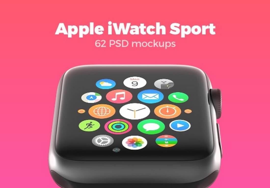 62-apple-watch-mockups 50+ Apple Watch Mockups & Graphics design tips