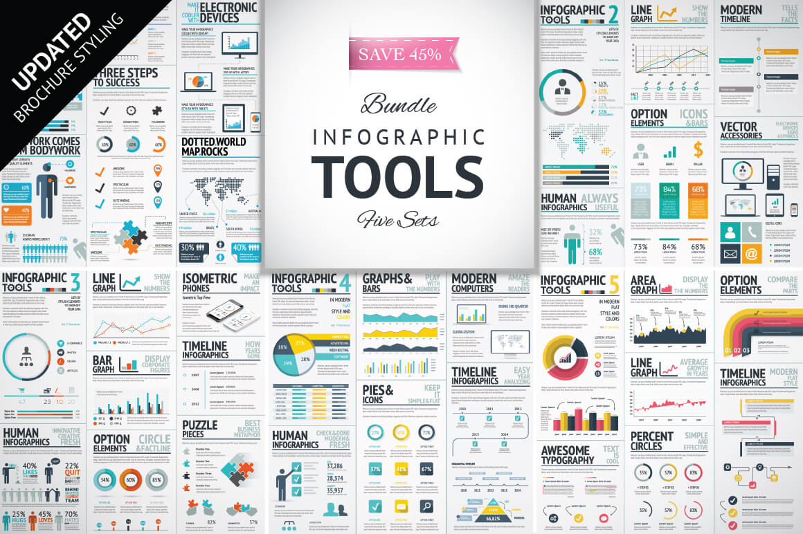 7-17 40+ Best Infographic Templates (Word, PowerPoint & Illustrator) design tips