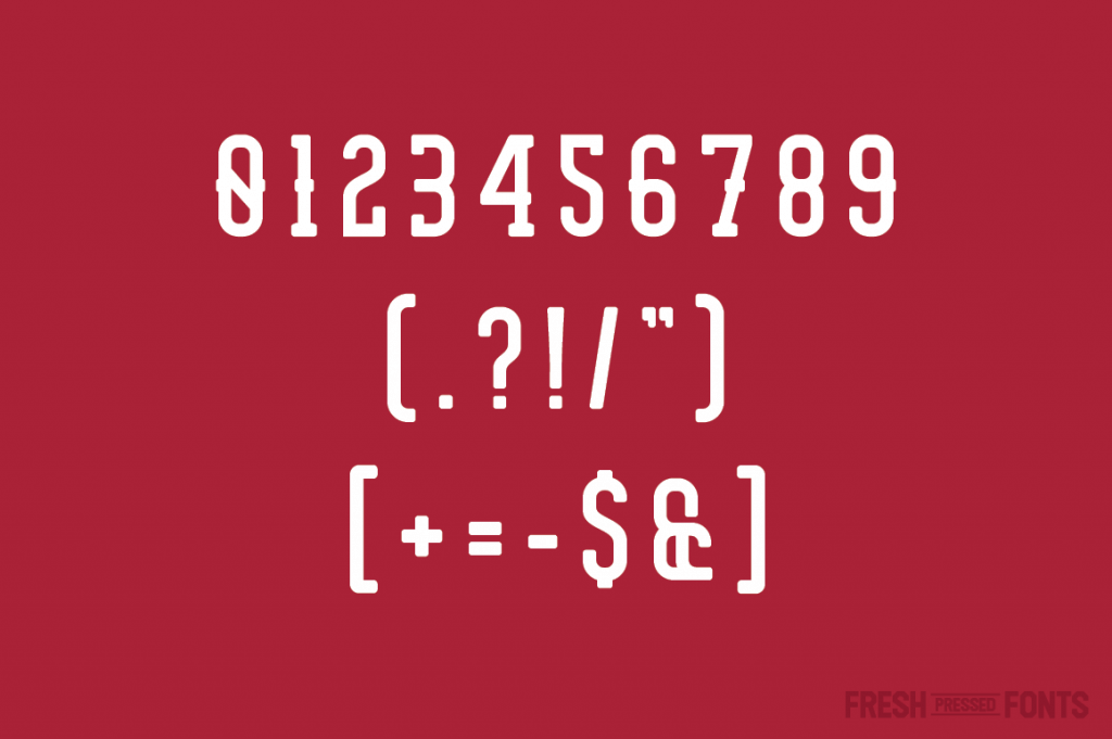 7-2-1024x681 30+ Best Number Fonts for Displaying Numbers design tips