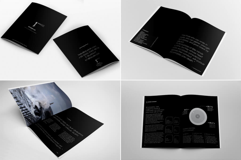 3d brochure template - 20 annual report templates top digital agency san