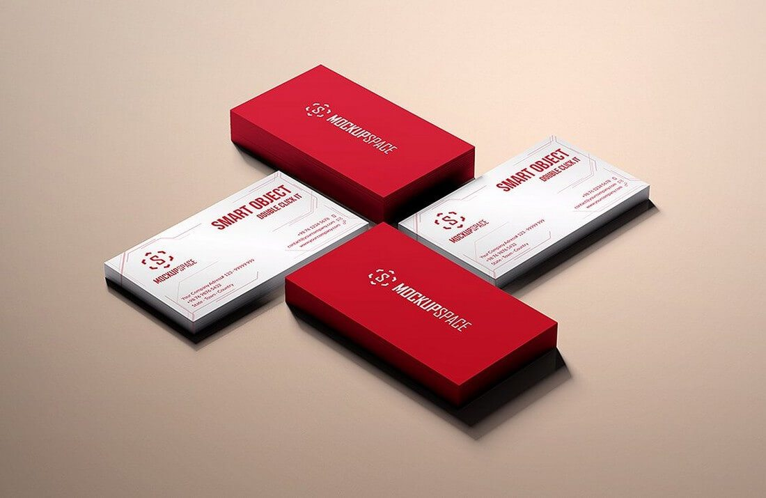 70+ Corporate & Creative Business Card Mockups | Design Shack