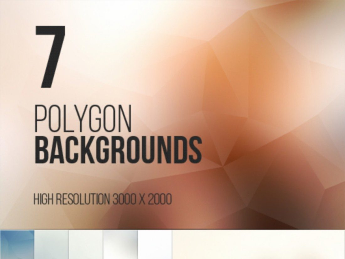 7-Polygon-Backgrounds 20+ Beautiful Geometric & Polygon Background Textures design tips