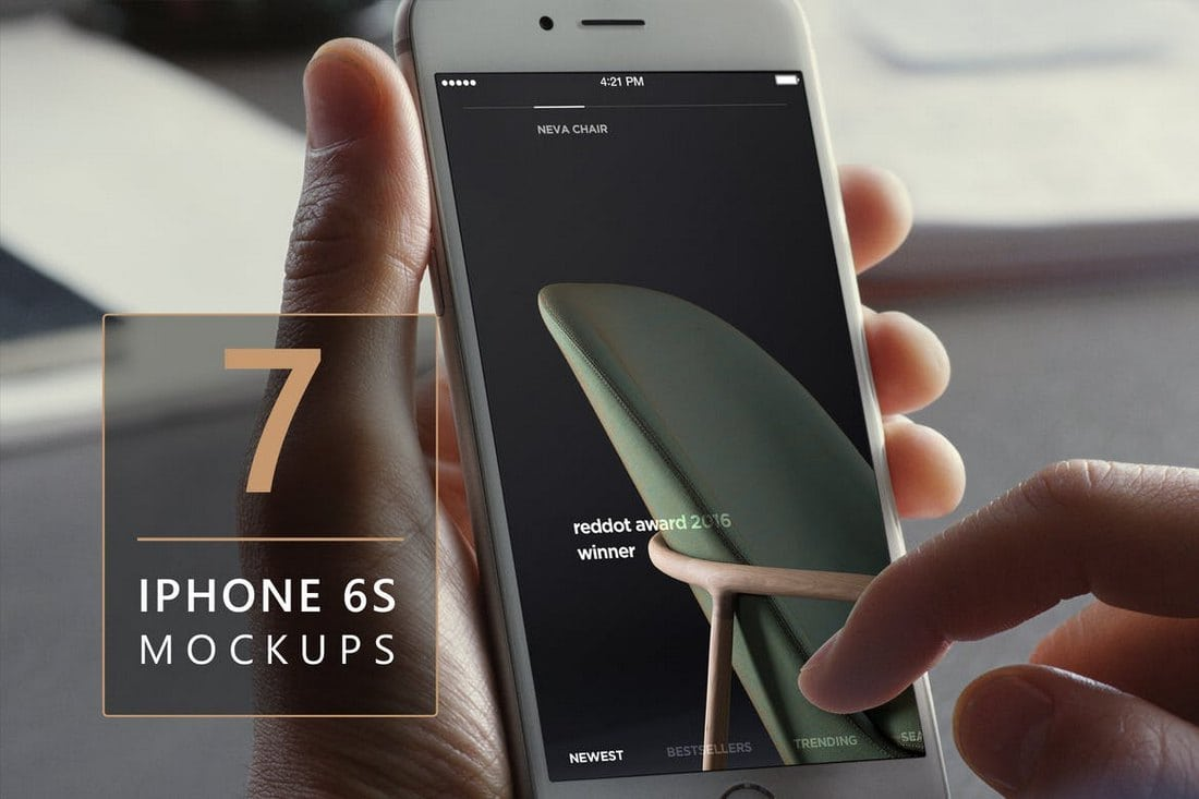 7-iPhone-6s-Photorealistic-Mockups-V2 20+ Best iPhone 6 + 7 Mockup PSD Templates design tips