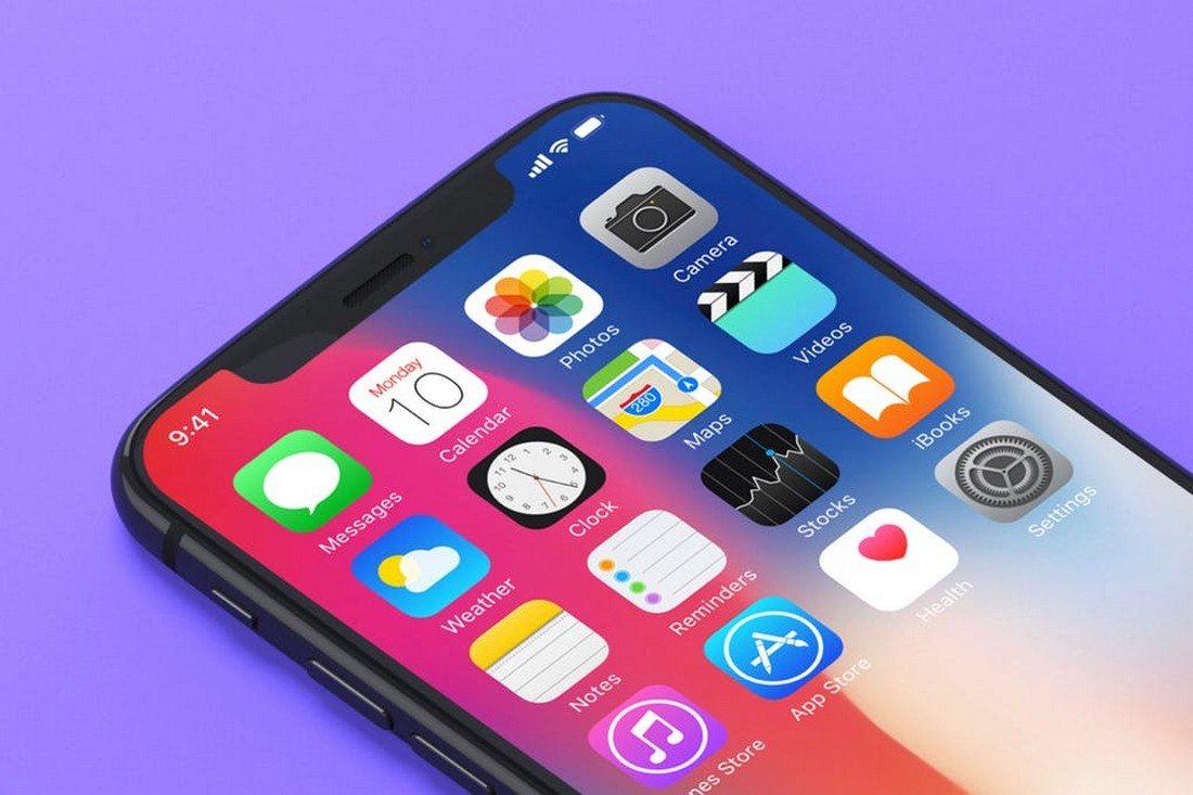 7-iPhone-X-Mockups 30+ Best iPhone X Mockups (PSD, AI & Sketch) design tips