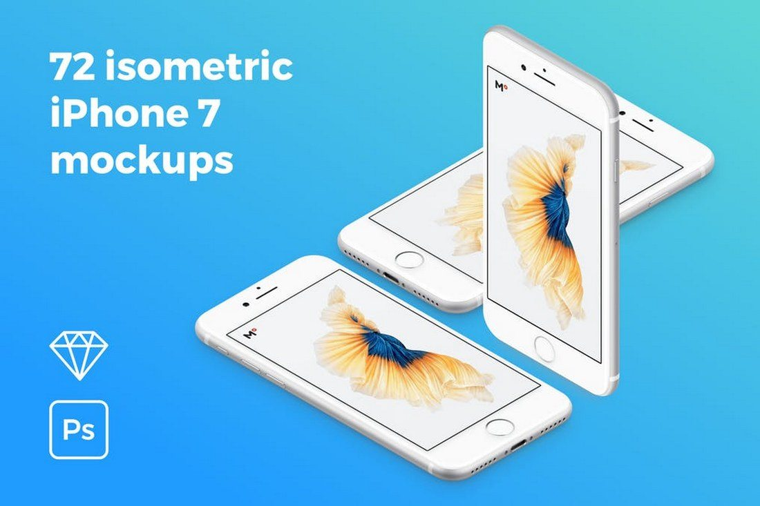 72-isometric-iPhone-7-Mockups 30+ Best Isometric Mockup Templates design tips