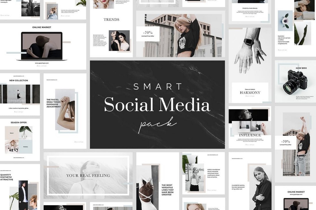 78 Smart Instagram Post Templates