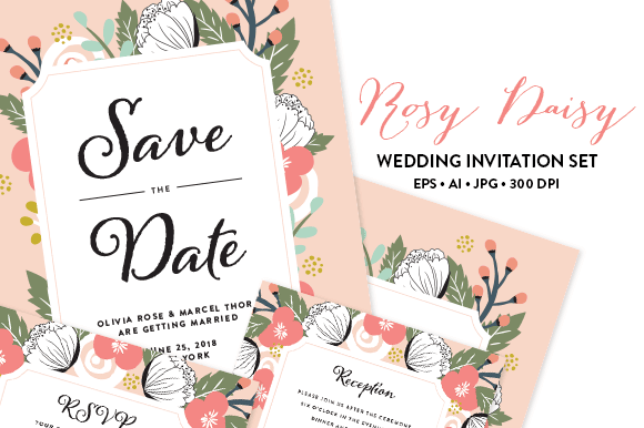 90 gorgeous wedding invitation templates design shack instantly download and get started on this ultimate diy wedding invitation set this wedding invitation template comes with save the date card direction stopboris Choice Image