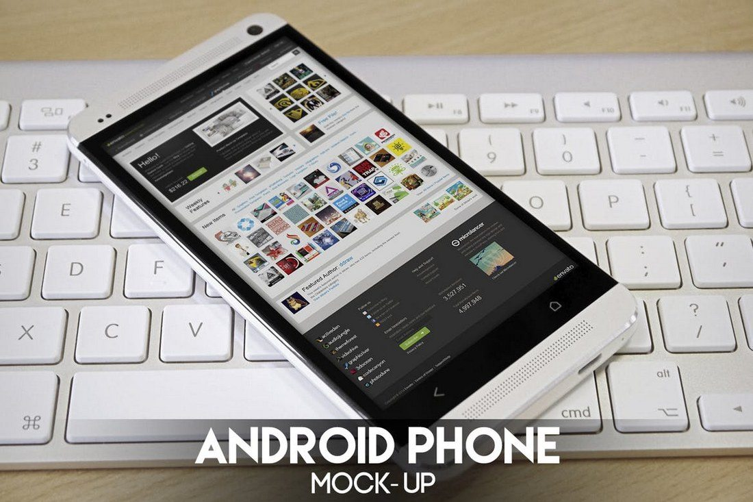 8-Android-Phone-Mockups 20+ Best Responsive Website & App Mockup Templates design tips