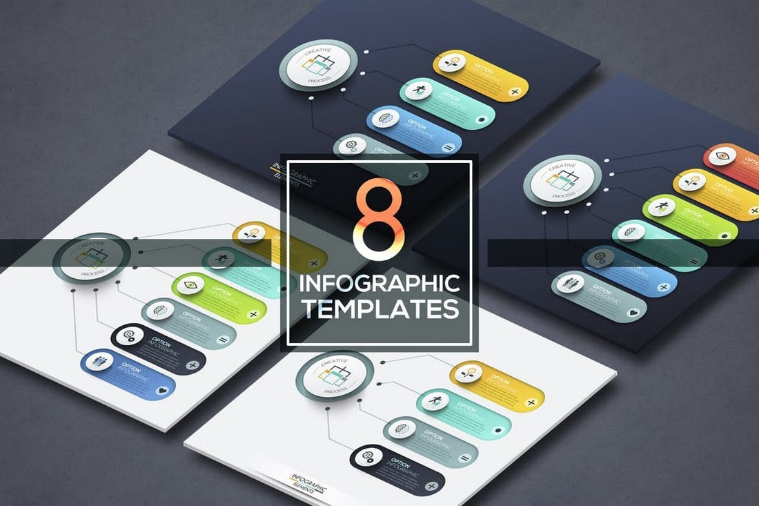 8-Infographic-Choice-Templates 40+ Best Infographic Templates (Word, PowerPoint & Illustrator) design tips