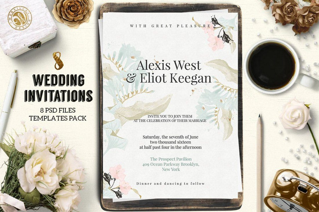 wedding designs for invitations