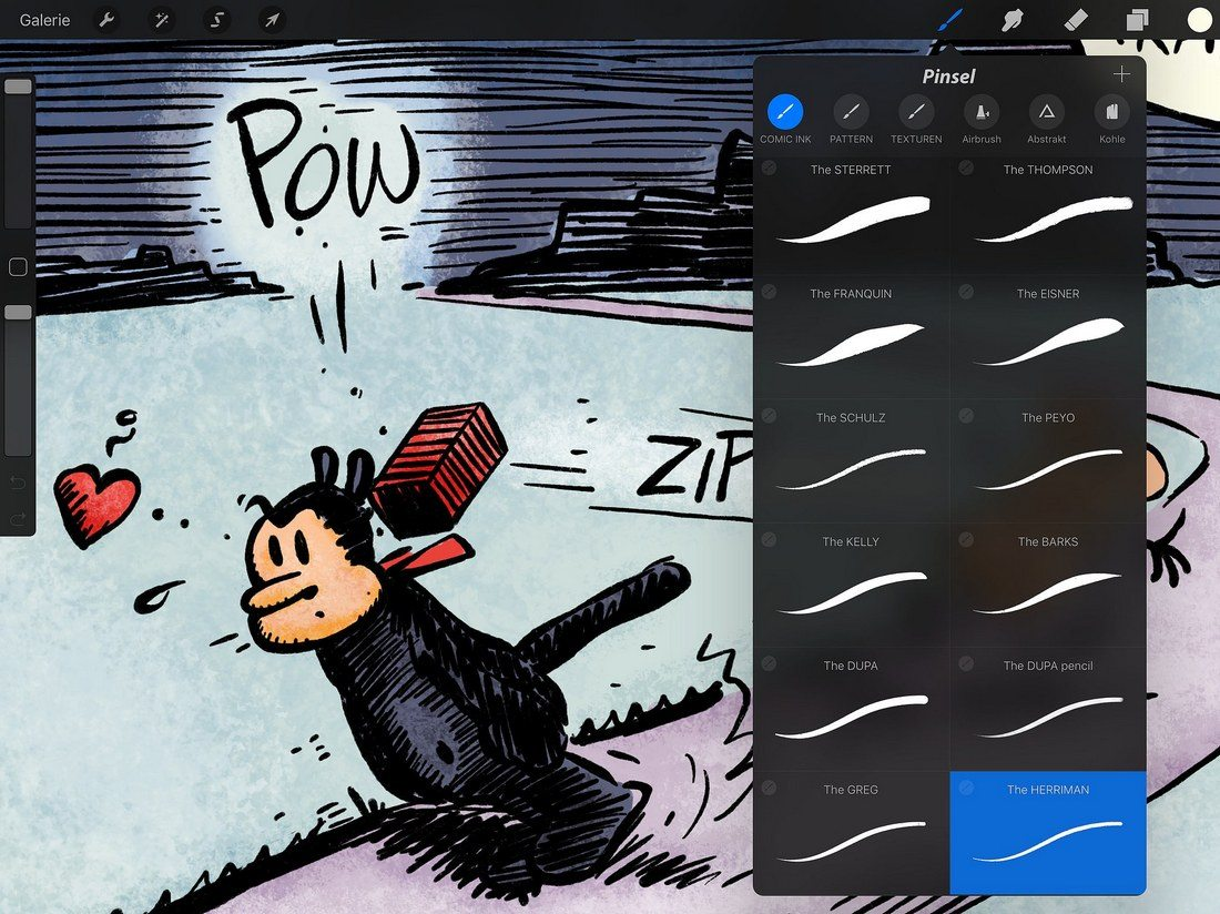how to install procreate brushes
