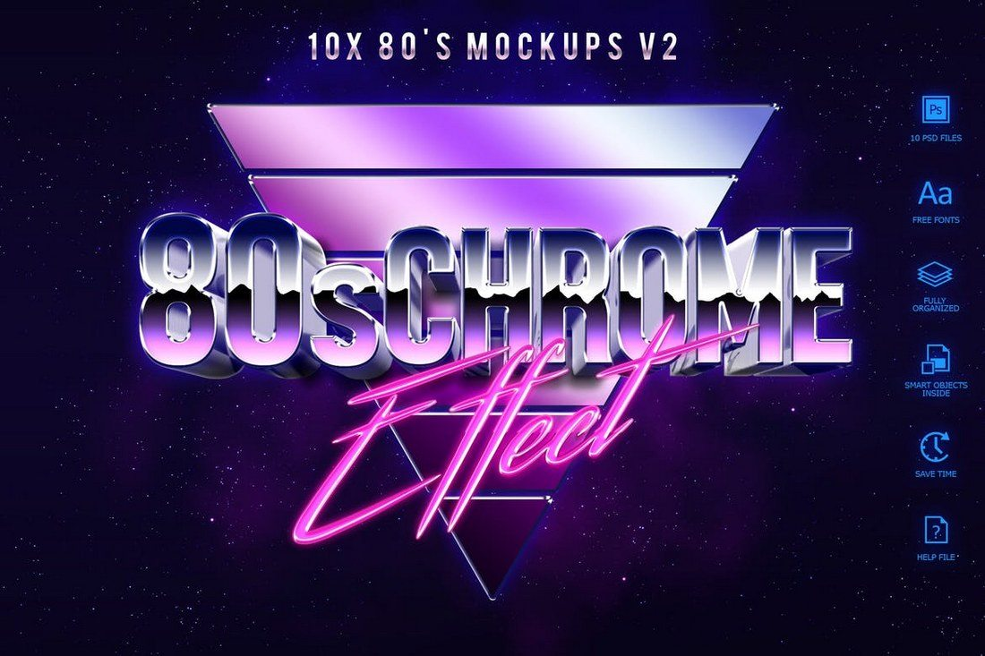 80s-Style-Text-Mockups-V2 30+ Best Retro Text Effects & Styles design tips