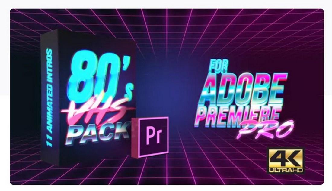 80s-vhs-intro-premiere-pro-template 30+ Best Premiere Pro Templates 2019 design tips