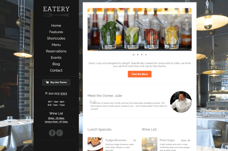 88-eatery-wordpress-theme