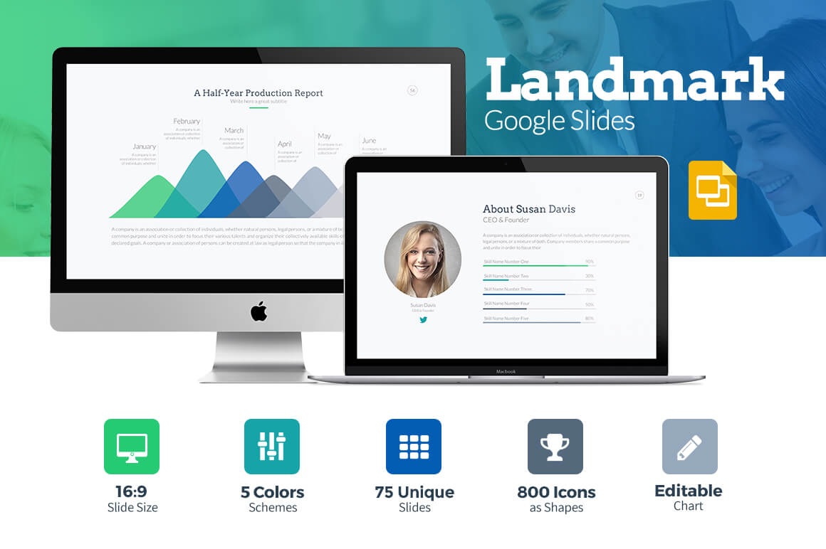 25 Modern Premium Google Slides Templates – Google Powerpoint Template