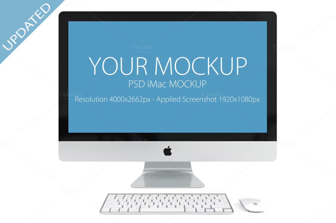 40+ iMac Mockups: PSDs, Photos & Vectors | Design Shack