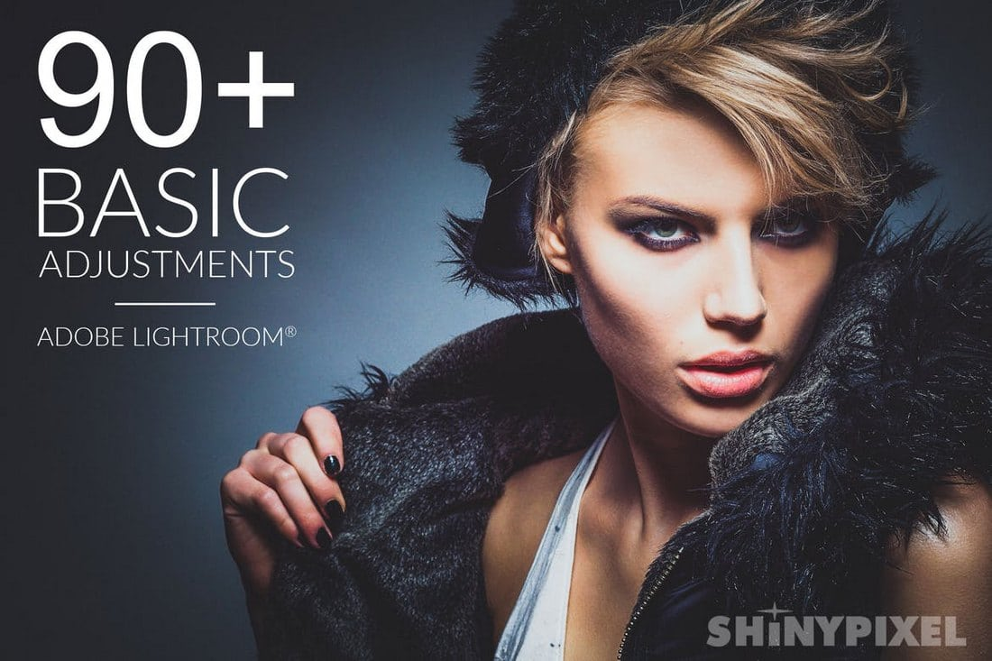 90-Basic-Adjustments-Lightroom-Presets 50+ Best Lightroom Presets for Portraits (Free & Pro) 2020 design tips