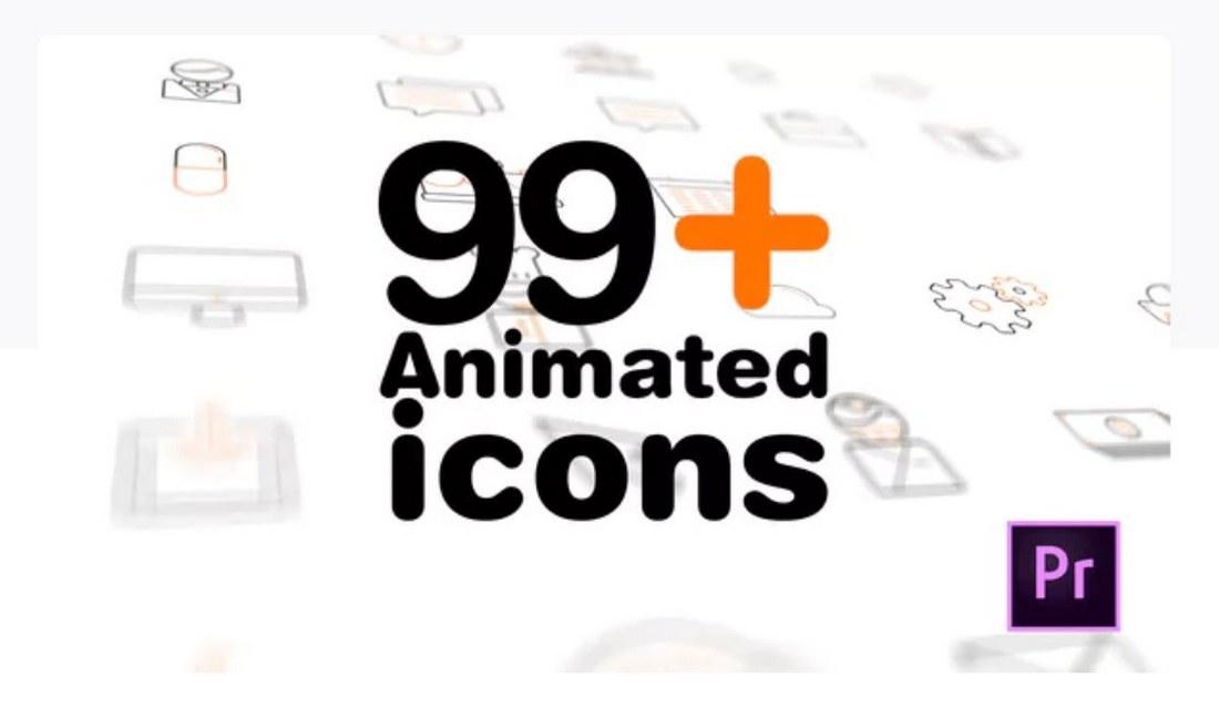 99-icons-premiere-pro-template 30+ Best Premiere Pro Templates 2019 design tips