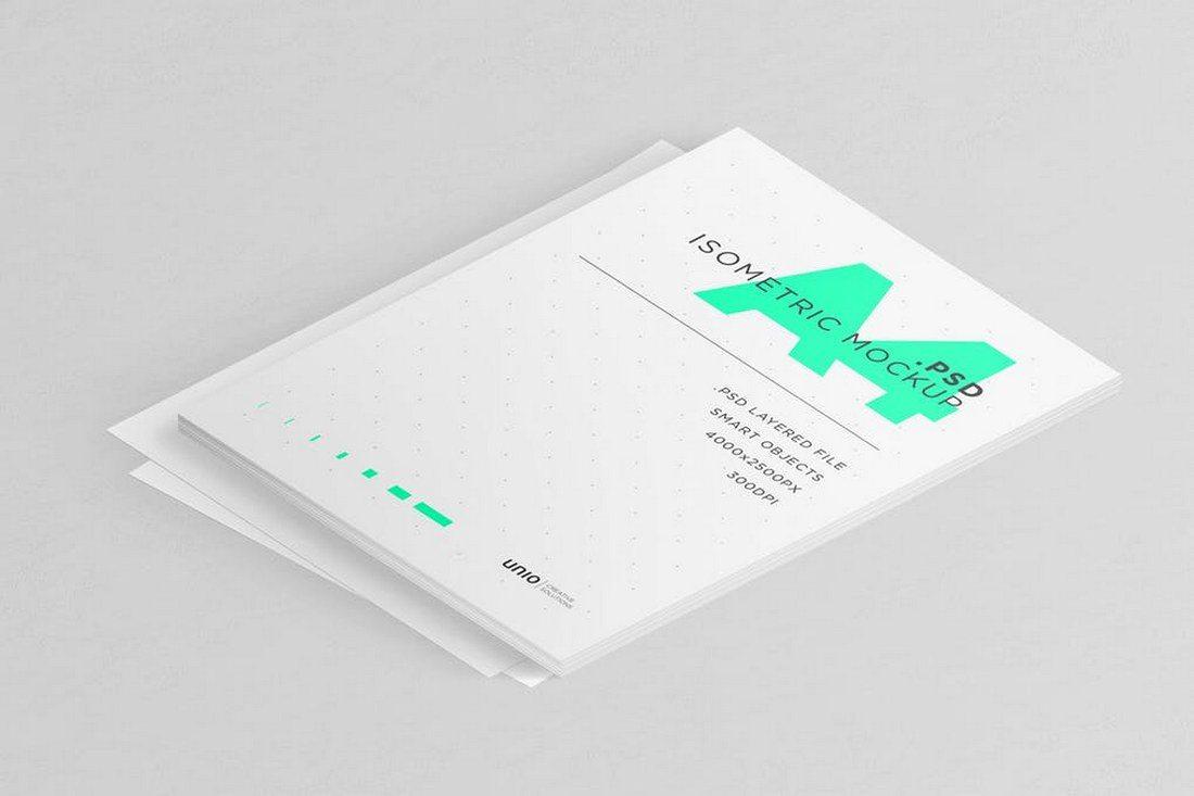 A4-Isometric-Mockup 30+ Best Isometric Mockup Templates design tips