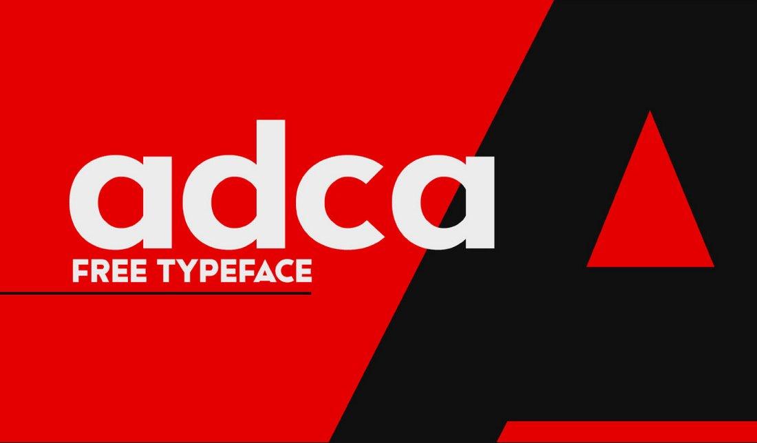 ACDA - Free Bold Title Font