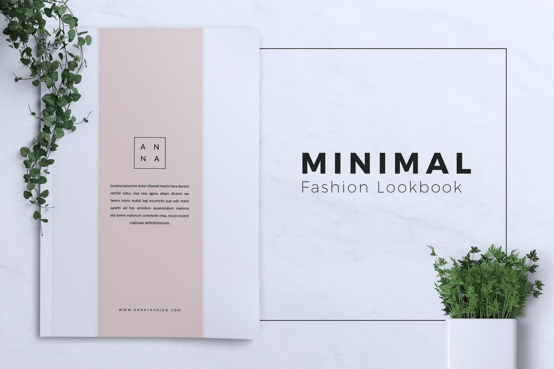 ANNA - Fashion Lookbook Template