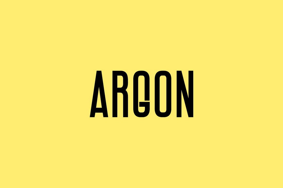 ARGON-Unique-Narrow-Display-Font 50+ Best Condensed & Narrow Fonts of 2020 design tips