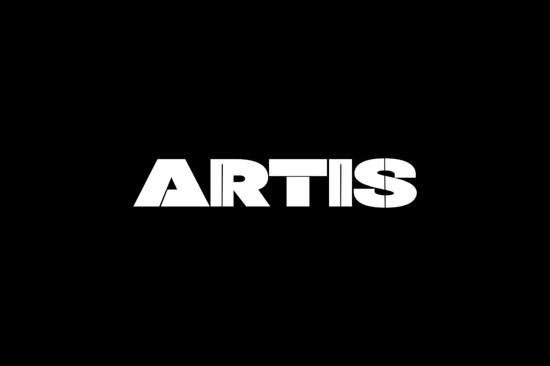 ARTIS - Unique Display Logo Font