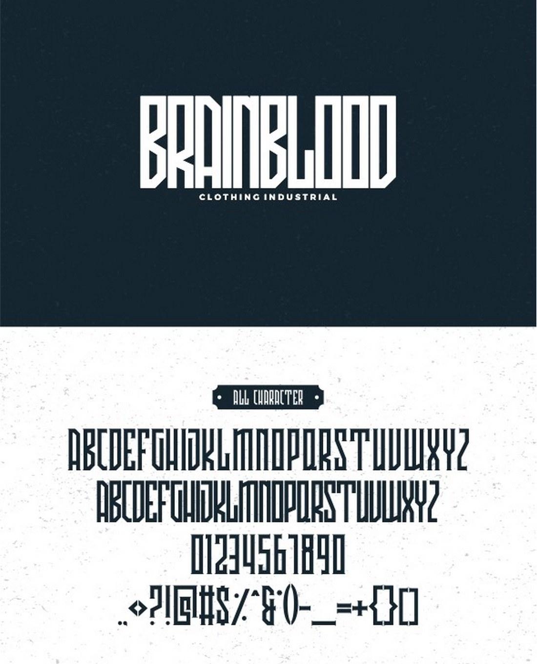 AVRIELLA - Modern Typeface