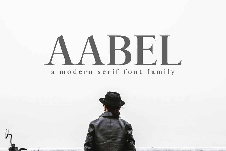 Aable - Modern Serif Logo Font
