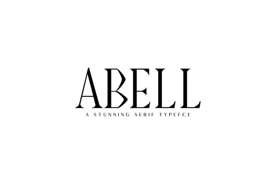 Abell - Serif Font Family Pack
