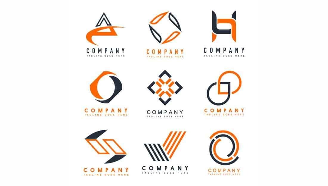 Abstract-Company-Logo-Templates 20+ Best Free Logo Templates design tips