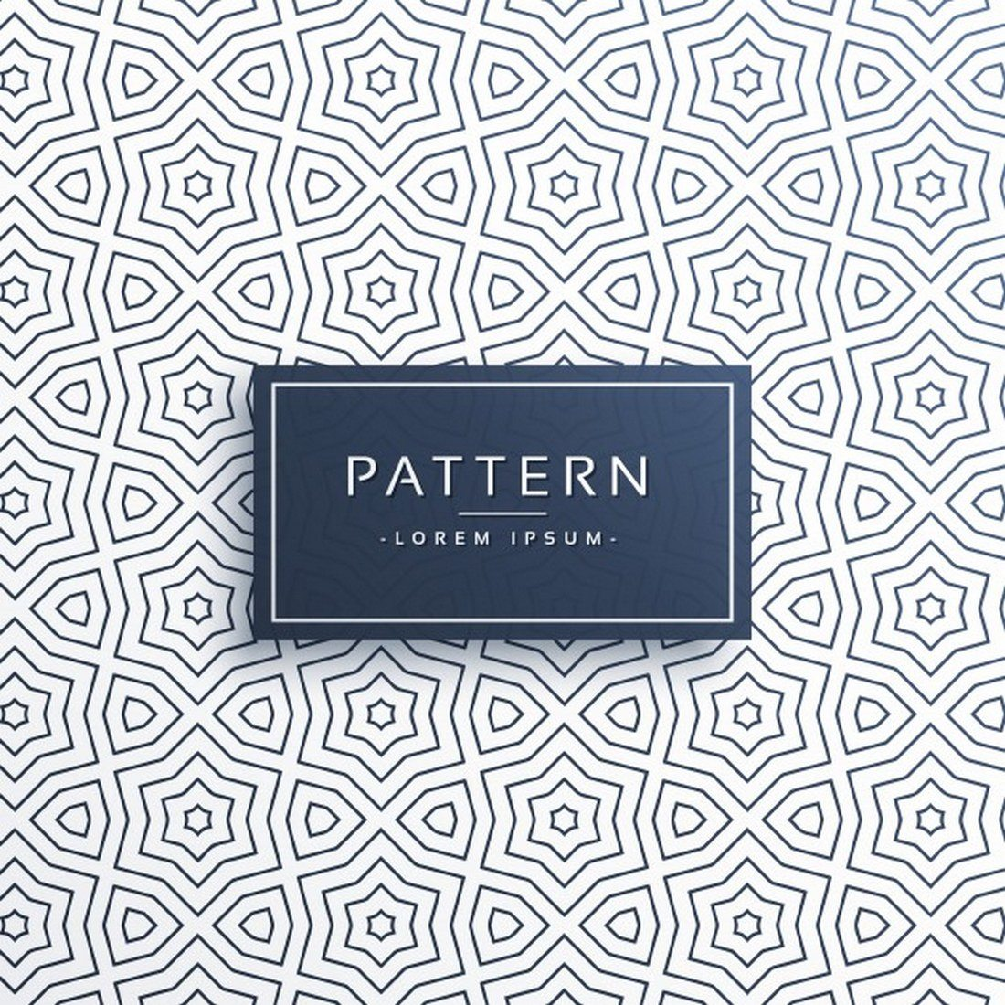 Abstract-Line-Pattern-With-Stars 30+ Best Line Patterns & Textures design tips