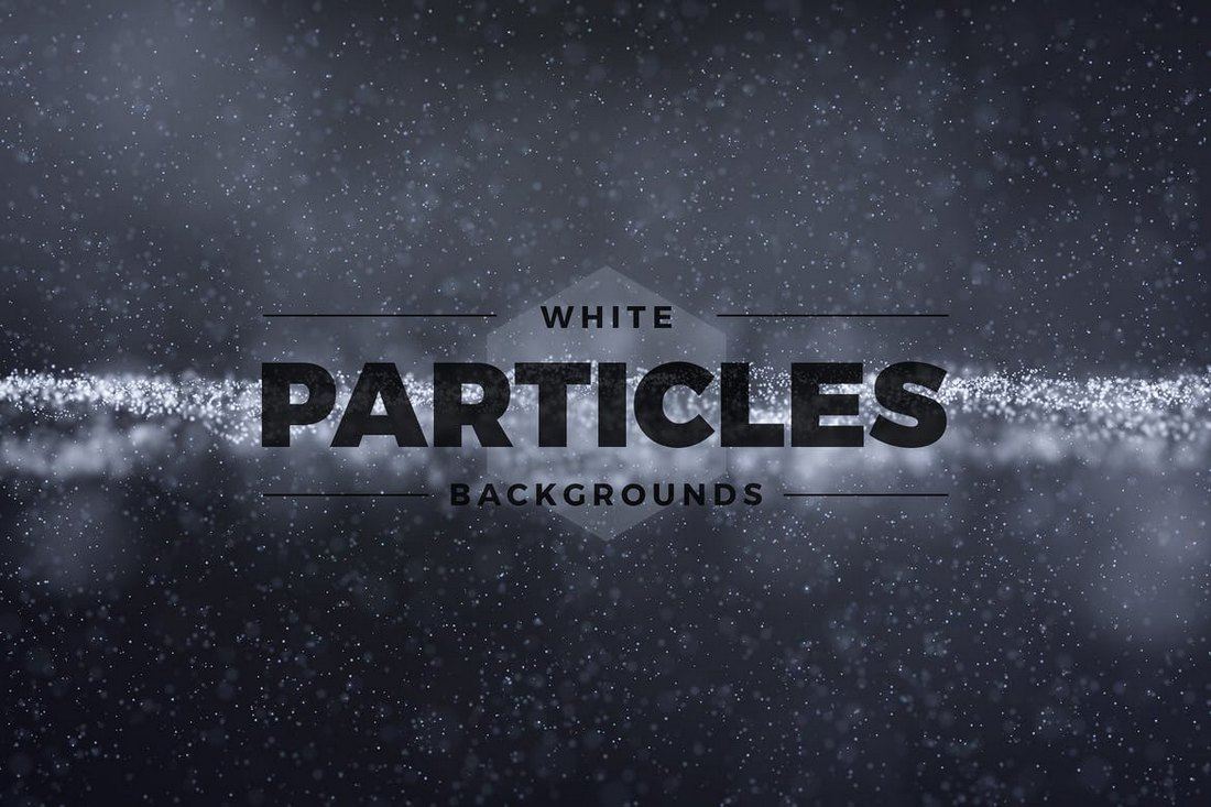 Abstract-White-Particles-Backgrounds 30+ Best Subtle Black & White Background Textures design tips