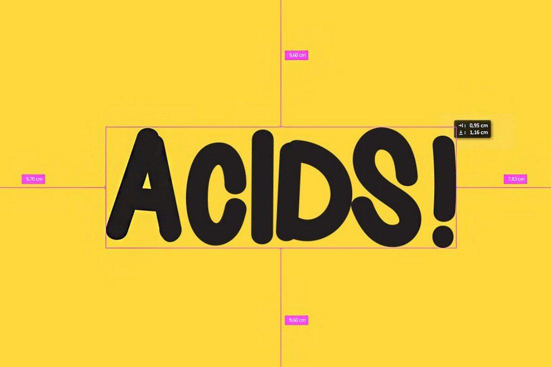 Acids-Font 30+ Best Fonts for Logo Design design tips