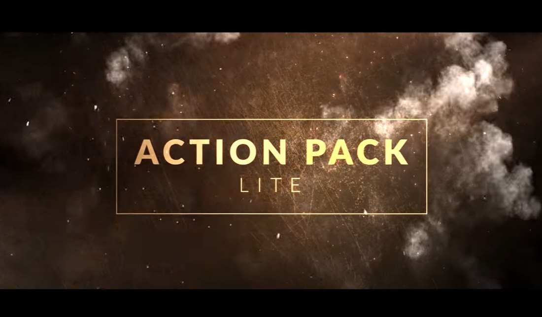 Action Pack - 25 Free Action Compositing Elements