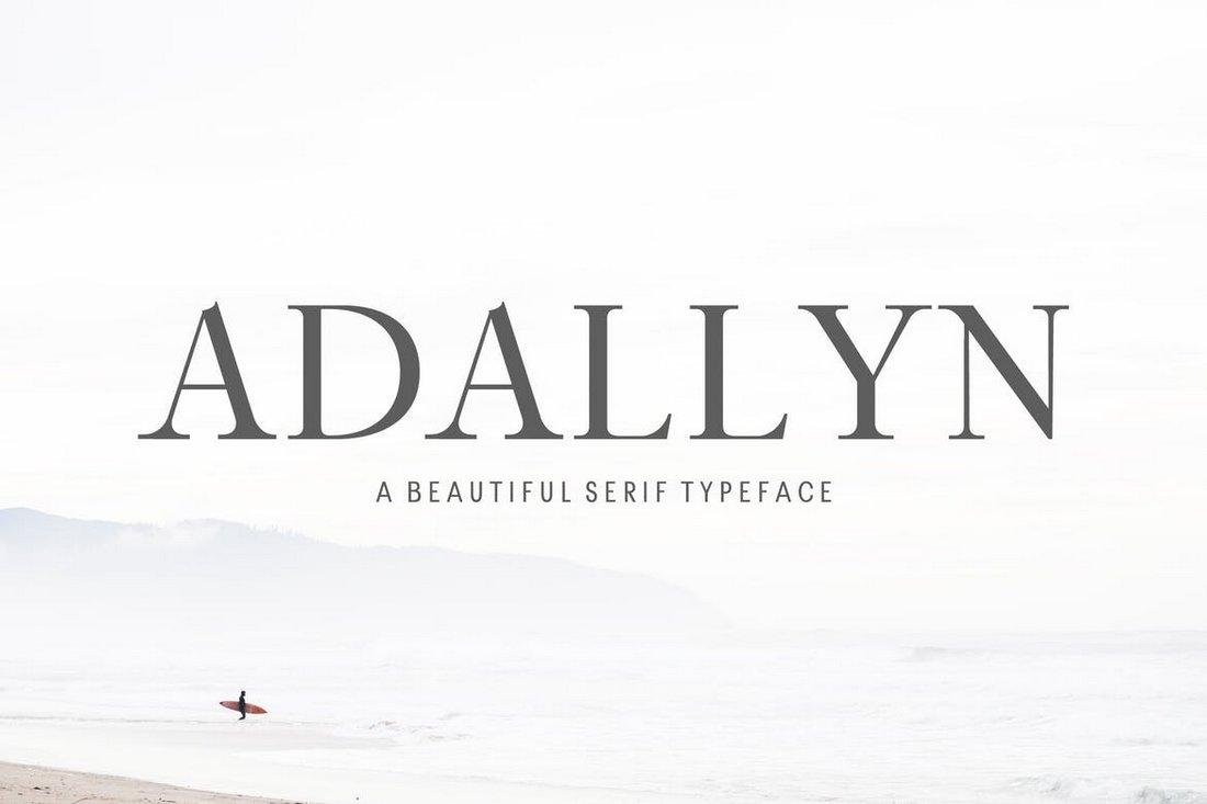 Adallyn Serif Font Family Pack