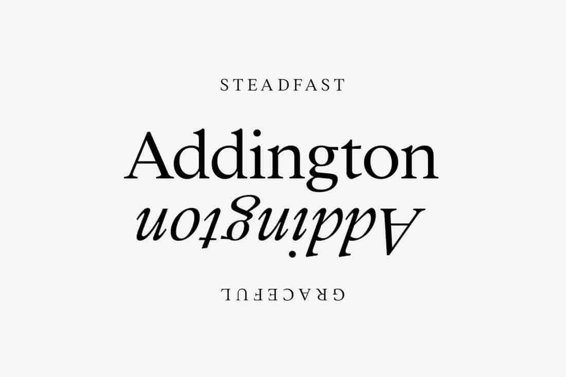 Addington CF - Serif Font Family