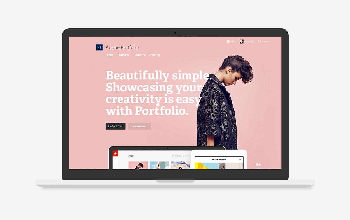 adobe portfolio